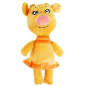 Игрушка мягкая Оранжевая корова Зо, 21 см, без чипа, в пак. МУЛЬТИ-ПУЛЬТИ в кор.24шт