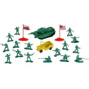"""Набор солдатиков военные ТМ """"ИГРАЕМ ВМЕСТЕ"""" в кор.2*72шт"""