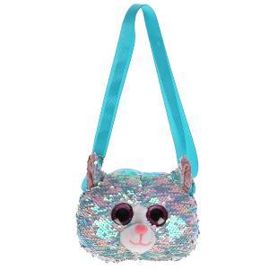 Мягкая игрушка сумочка в виде кошки 18см , в пак МОЙ ПИТОМЕЦ в кор.24шт