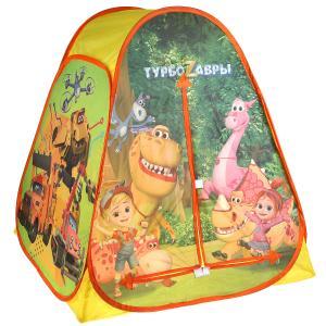 Палатка детская игровая Турбозавры 81х90х81см, в сумке Играем вместе в кор.24шт