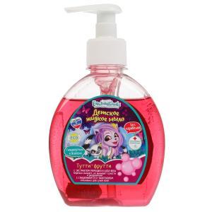 Детское жидкое мыло ЭНЧЕНТИМАЛС с ароматом тутти-фрутти, 250 мл Заботливая мама в кор.8шт
