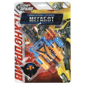 Робот трансформирующийся в оружие, блист.15*22*3см ТЕХНОДРАЙВ в кор.2*60шт