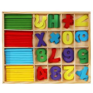 Игрушка деревянная счетный материал Буратино в кор.120шт