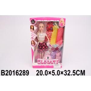 Кукла 29см с набором одежды, в ассорт. 051-1 в кор. в кор.2*36шт