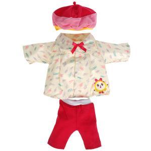 Одежда для кукол и пупсов 40-42 см МАЛЫШАРИКИ костюм с принтом панда, пакет КАРАПУЗ в кор.100шт