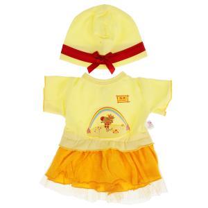 Одежда для кукол и пупсов 40-42 см Зебра в клеточку платье с принт зебра,пакет КАРАПУЗ в кор.100шт