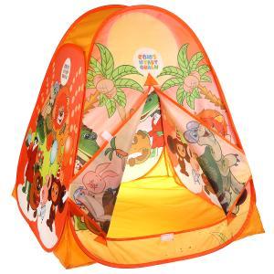Палатка детская игровая СОЮЗМУЛЬТФИЛЬМ любимые герои 81х90х81см, в сумке Играем вместе в кор.24шт