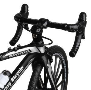 Модель металл велосипед, длина 17см в русс. кор. Технопарк в кор.2*36шт